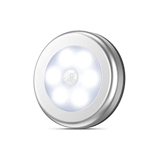 3 PCS Luz Nocturna Regulables Luces para Gabinetes, Lámpara Nocturna LED Inalámbrica para Cocina, Vitrina, Tocador, Pasillo, Escalera etc (luz blanca)