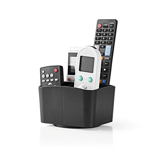 Invero Master - Soporte universal para mando a distancia (rotación 360º)