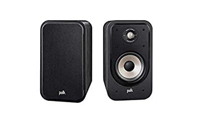 Polk Audio S20E Signature Polk Audio Signature S20 E Shelf Speaker Black/Black from Polk Audio