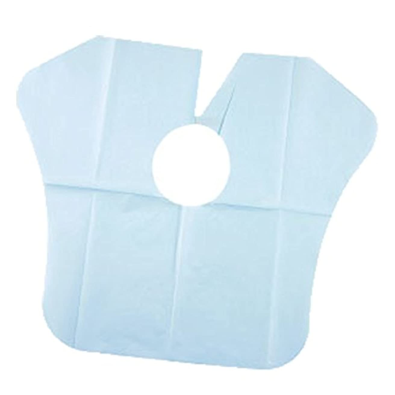 腹次へばかげたヨネコ ペーパーケープ 30枚入 不織布 ヘアダイクロスを汚れから守ります! YONECO