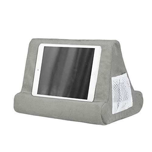 MoneRiffi - Tablet con supporto, Supporto per iPad e tablet, Supporto Multi-Angolo per Cuscini per Tablet, Lettori di Libri digitali