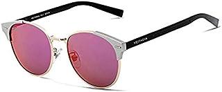 نظارة شمسية للجنسين، عدسات بولارزيد، احمر و ذهبي