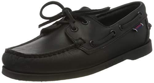 Sebago Docksides Portland W, Chaussures Bateau Femmes, Noir (Total Black 924), 41 EU