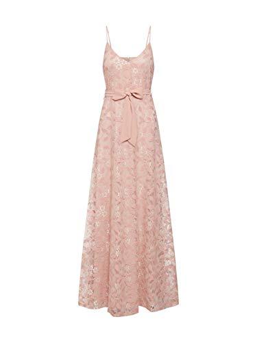VILA CLOTHES Damen Partykleid Vimash Maxi Dress/Za, Rosa (Rose Smoke), (Herstellergröße: 38)