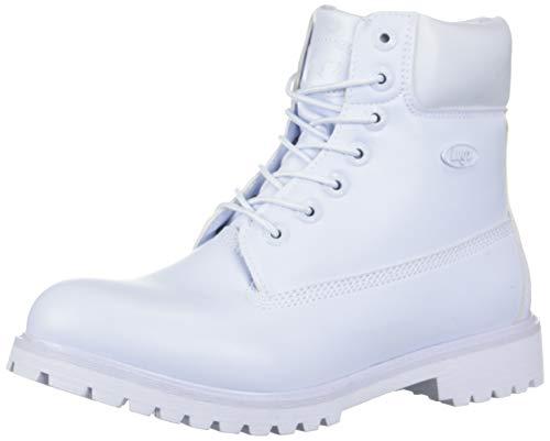 Lugz Men's Convoy Fashion Boot, White, 11 D US