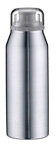 alfi isoBottle Isolier-Trinkflasche, Thermoflasche, Isolierflasche, Real Pure Edelstahl, 0,35 Liter