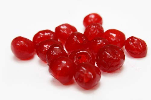 Fresh Assorted Sicilian Candied Fruit  Cherry Orange and Citron Italian Import  Frank and Sal Bakery Half Pound Each