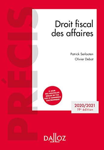 Droit fiscal des affaires 2020-2021 - 19e ed.