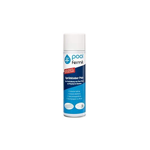 Fermit Pool Sprühkleber Poly 500 ml Dose für Pool Vlies und Styroporsteine