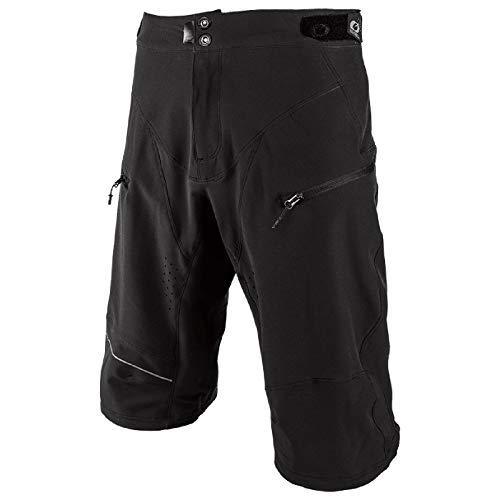 O'NEAL | Kurze Mountainbike-Hose | MTB DH Downhill FR Freeride | Druckknopf-Verschluss, sicherer Halt, schnell trocknendes Performance-Material | Generator Shorts | Erwachsene | Schwarz | Größe 34