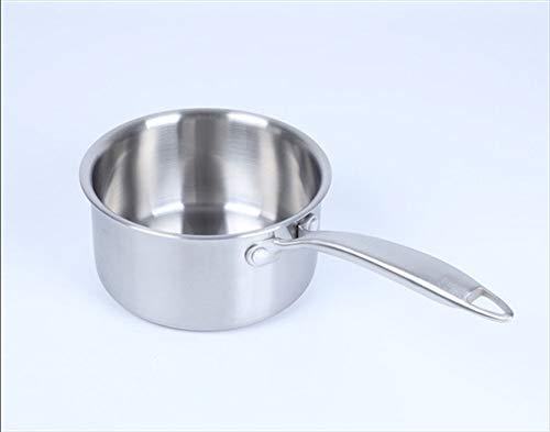 Pan Sets Non-Stick Met Deksels Melk Pan Keukengerei Roestvrij Staal Camping Pannen Inductie Pannen Voor Kookplaten,18cm