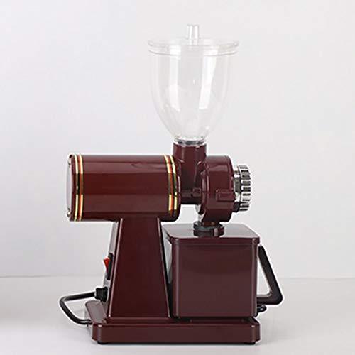 HL Portátil máquina de Espresso, Semi-automático de la Haba Grinder, Compatible café molido, Viajes pequeña Cafetera, operado manualmente de pistón Acción El Ahorro de energía (Color : Red)