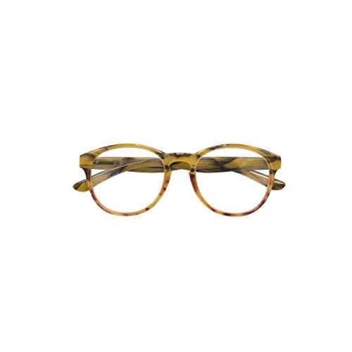 Croon Glasses Neville - leesbril - voor mannen en vrouwen - veerscharnieren + 1.00 rood