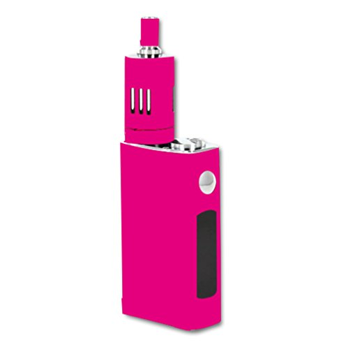 Decal Sticker Skin WRAP Solid Dark Pink Color for JoyeTech eVic VT 60W Kit