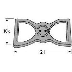 Music City Metals 22202 Cast Iron Burner Head Replacement for Select Broilmaster Gas Grill Models