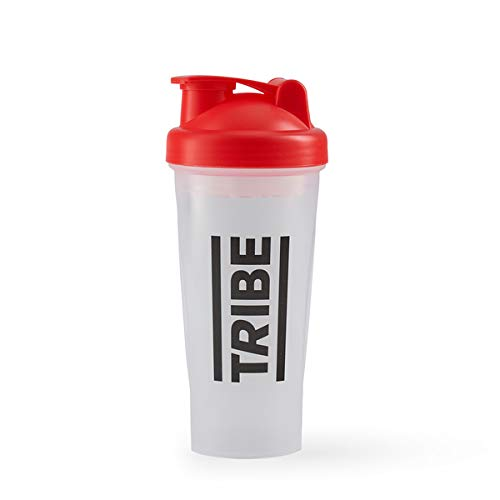 TRIBE Shaker - Protein Shaker with Screw Tight lid, Dishwasher Friendly