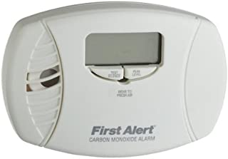 FIRST ALERT/BRK BRANDS CO615A First Alert Plug-in Carbon Monoxide Detector Backup, Low Battery Alarm, Backlit Digital, 120 Vac