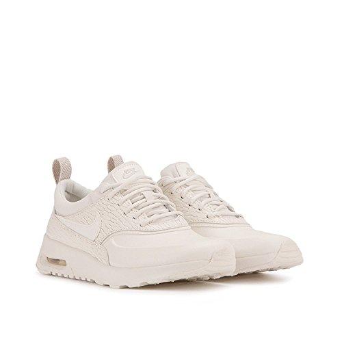 Nike 904500 100 Air Max Thea Premium Leather Sneaker Beige|41
