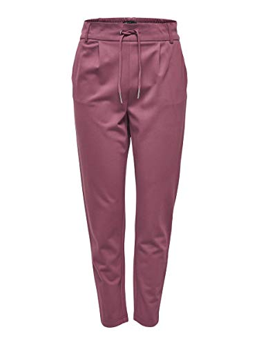 Only Onlpoptrash Easy Colour Pant Pnt Noos, Pantalones Para Mujer, Rojo (Wild Ginger), W34/L30 (Talla Del Fabricante: X-Small)