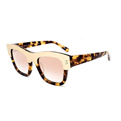 Stella McCartney SC0047S-003 Gafas, havana-dorado, 49/21/140 para Mujer
