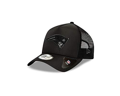 New Era New England Patriots Cap New Era NFL Trucker Kappe Basecap American Football Schwarz - One-Size