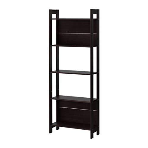IKEA Laiva 401.785.91 - Estantería (tamaño 24, 3/8 x 65), color negro y marrón