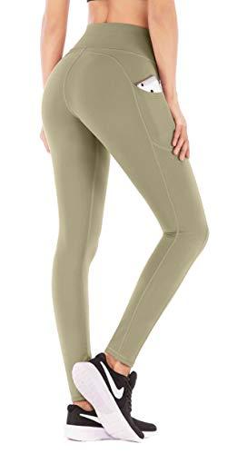 IUGA High Waist Yoga Pants with Pockets, Tummy...