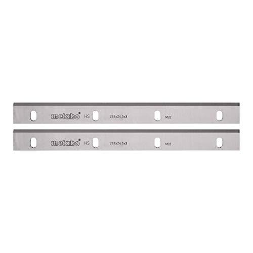 Metabo HSS-Hobelmesser (für Weich- u. Harthölzer, nachschleifbar, 18% Wolfram-Anteil; 260 mm, für ADH 1626) 630545000