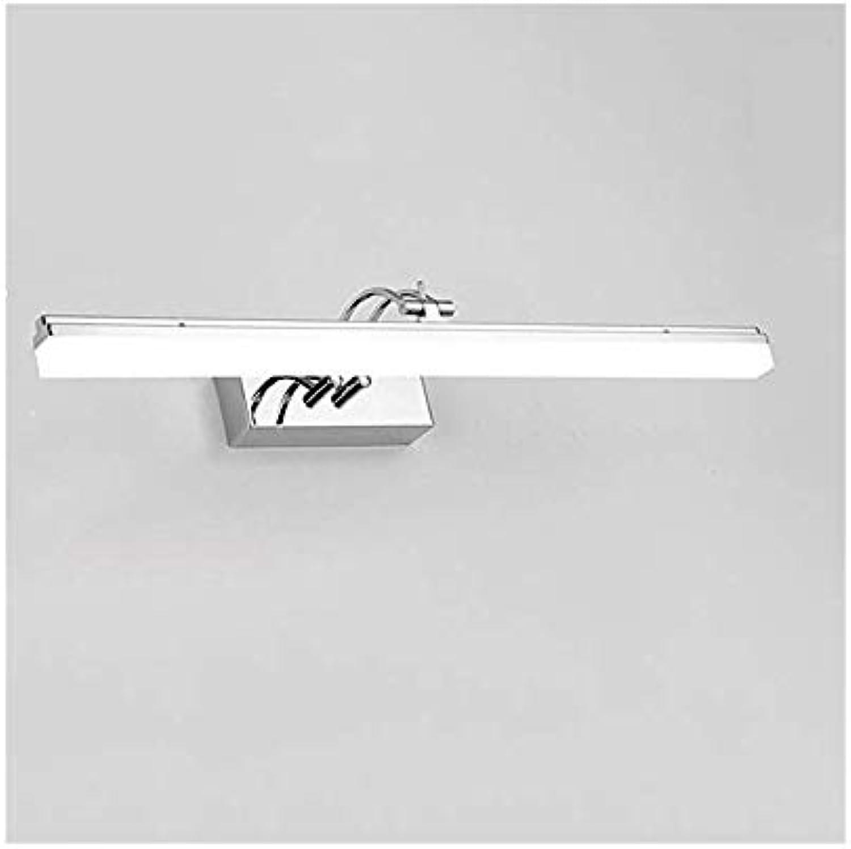 JCM LED Spiegel Wandleuchte LED Spiegel Frontleuchte Spiegel Schrank Lampe Badezimmer Badezimmer Lampe Make-up Lampe einfache Frisierkommode Lampe ZJ (Größe   59cm)