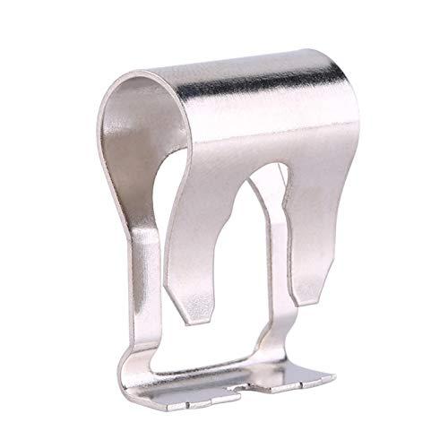 Clip de conexión del limpiaparabrisas, clip de reparación de fijación de la biela del motor del limpiaparabrisas, 1 par de varillas de conexión del motor del limpiaparabrisas Kit de clip de reparación