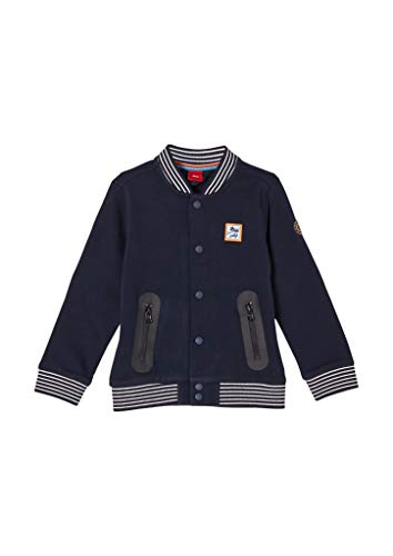 s.Oliver Junior Jungen 404.10.103.14.150.2060606 Sweatshirt, Dark Blue, 128/134