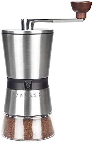 Manual Coffee 4 years warranty Long Beach Mall Grinder Premium Steel Stainless Conical Ceramic