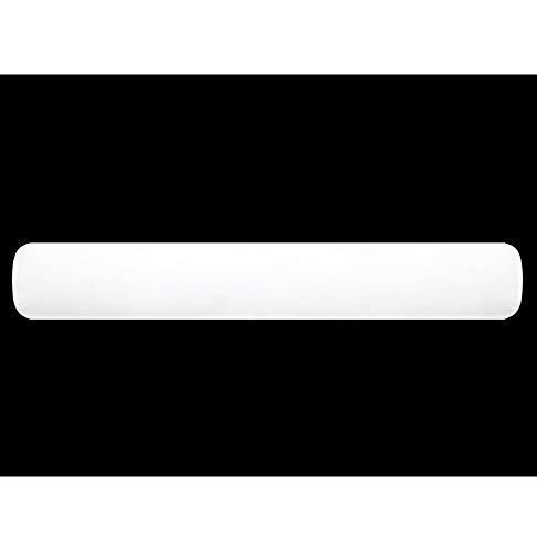 Soleil d'ocre Traversin Anti-Acariens LUXE largeur 160 cm, Coton, Blanc, 160x20x20 cm