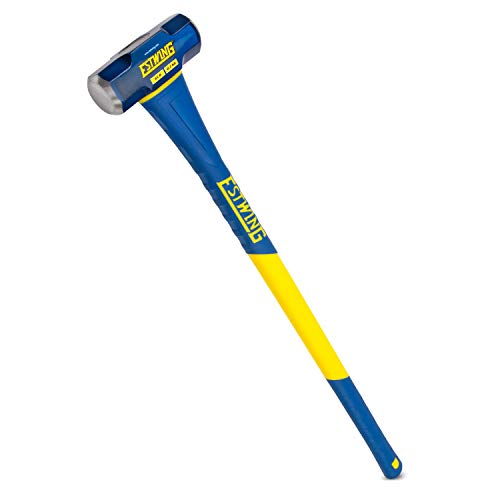 Estwing 6-Pound Hard Face Sledge Hammer for...