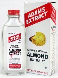 Adams Extract Natural and Artifical Almond Flavoring Baking