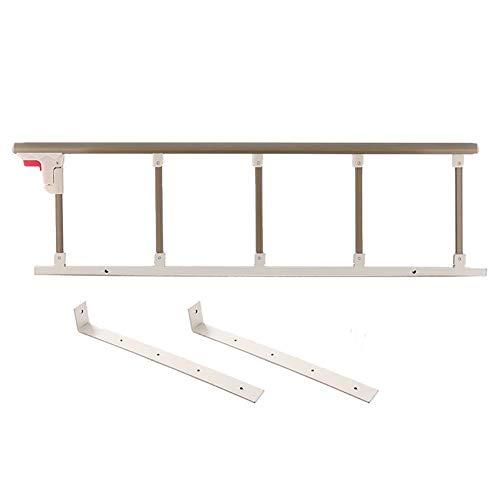 Peuter Bed Rail Bed Rail voor Ouderen Volwassenen Bed leuning Oudere veiligheid nachtkastje, Opvouwbare Bed Assist Bar Handvat Medical Supply Hospital Aluminium 94×35cm