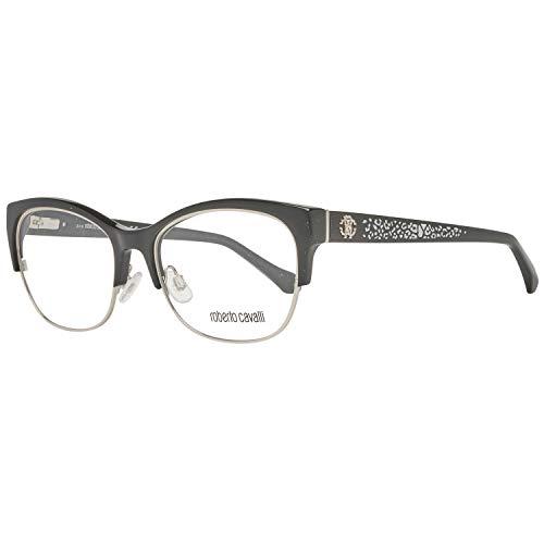 Roberto Cavalli RC5023 Gafas de sol, Negro (Negro Lucido), 54.0 Unisex Adulto