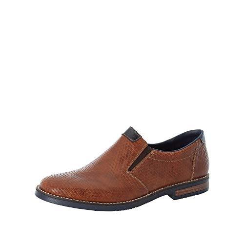 Rieker Hombre Zapatos Bajos 13564, de Caballero Zapatillas,Pantuflas,Zapatos de Negocios,Zapatos universitarios,Marrón (Braun / 24),44 EU / 9.5 EU
