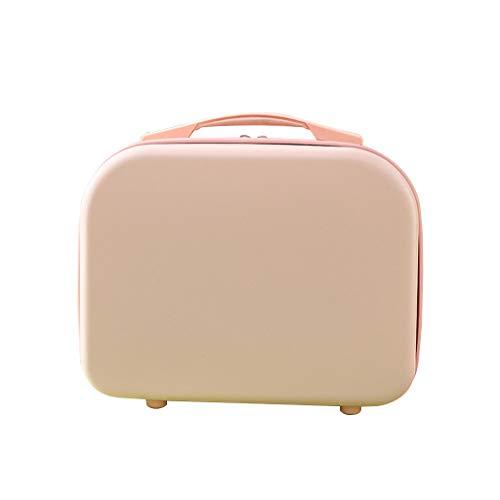 MENGSHI Mini equipaje de mano de viaje cosmético estuche pequeño bolsa de transporte de maquillaje durable y práctico