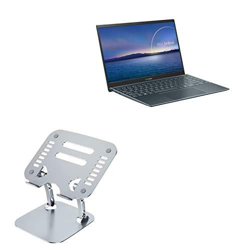 Suporte e suporte BoxWave para ASUS ZenBook 14 UM425UA [Executive VersaView Laptop Stand] Suporte ergonômico metálico ajustável para laptop ASUS ZenBook 14 UM425UA - Prata metálica