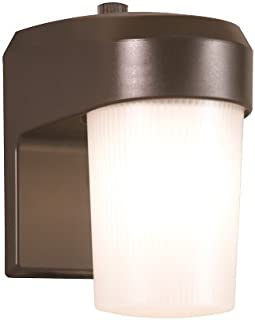 ALL-PRO FE13PC, 13W Fluorescent Entry Light With Photo Control, Bronze