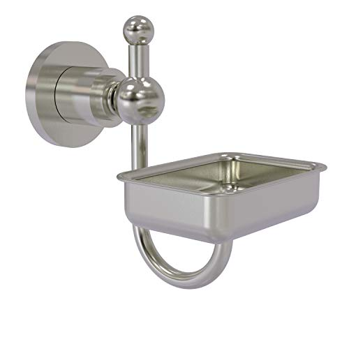 Allied Brass AP-32 Astor Place Wall Mounted Soap Dish, Satin Nickel