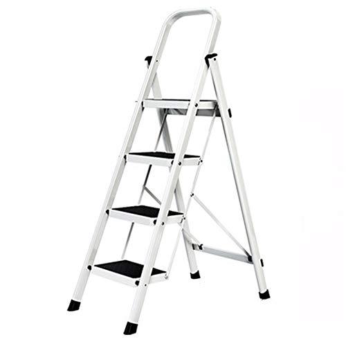 GYJ Stap Ladder/Huishoudelijke Kruk Fotografie Vouwstappen Metaal Draagbare Brede Pedaal Binnen voor Keuken Kantoor Thuis Antislip Volwassen Kinderen
