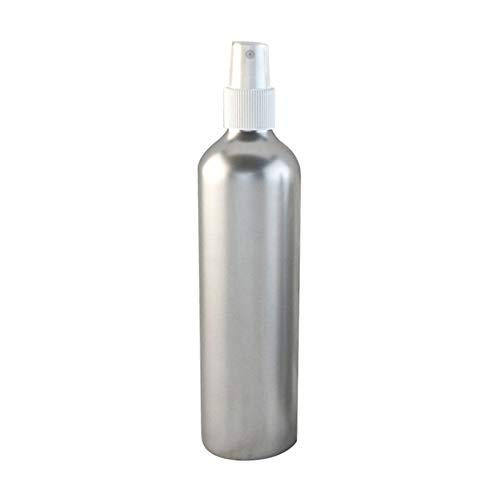 0Miaxudh - Botella de Aluminio vacía, 30-150 ml, Botella pulverizadora de Aluminio, depósito de líquido cosmético rellenable, Blanco, 30 ml