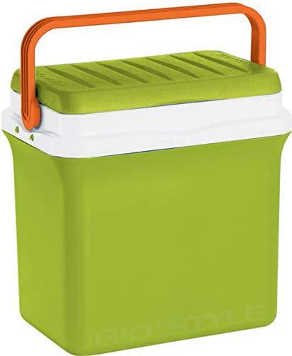 Gio Style Borsa Termica Rigida Frigo Portatile con Maniglia 22,5 Litri, Multicolore, Unica