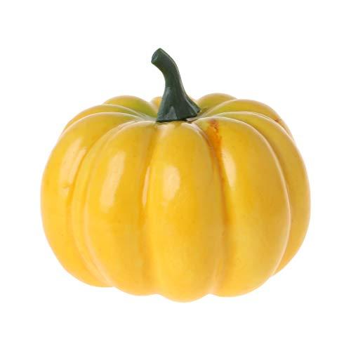 BELTI Realistische gefälschte künstliche kleine Kürbisse für Halloween-Herbst-Ernte-Erntedankfest-Dekor-DIY-Handwerk