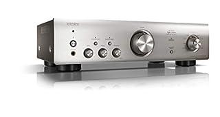 Amplificatore Hi-Fi Stereo Potenza 70 Watt per canale (4 ohm, 1kHz., THD 0.7%) ingressi audio digitali, ingresso Phono MM per giradischi Connessione Bluetooth Telecomando incluso