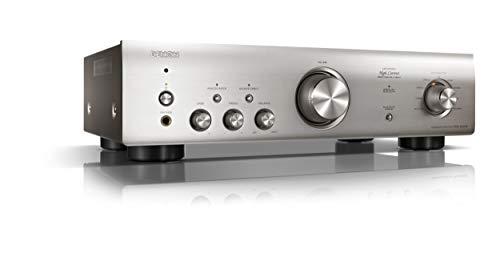 Denon PMA-600NE Vollverstärker mit 70W pro Kanal und Bluetooth, silber