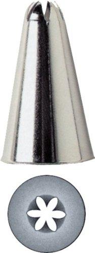 Kaiser Sterntülle geschlossen, 16 mm, Edelstahl rostfrei falz- und randfrei