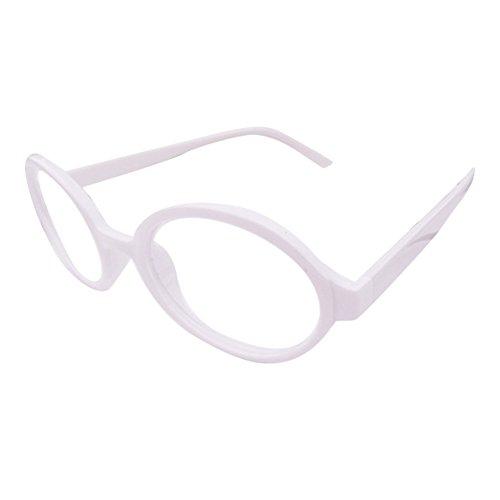juqilu juqilu Rund Gläser für Kinder - Jungen und Mädchen Keine Objektive Gläser Kunststoff Brillenfassung Klassisches Brille mit Auto Form Brillenetui